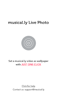 musical.ly Live Photo