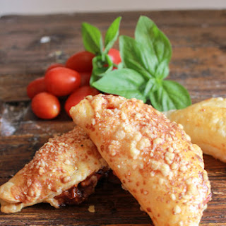 Tomato Double Cheese Stuffed Puff Pastry