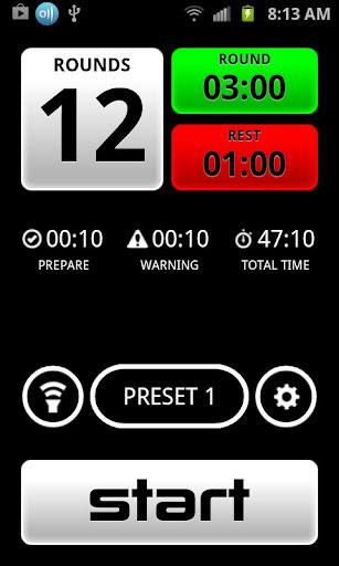 Boxing Timer Pro screenshot 1