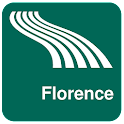 Mapa de Florencia offline icon