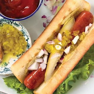Large-Batch Hot Dog Buns