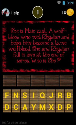Trivia Word for Wolfblood Fans