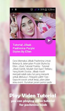 Hijab Pashmina Tutorial Video 4 0 Apk Free Lifestyle Application Apk4now