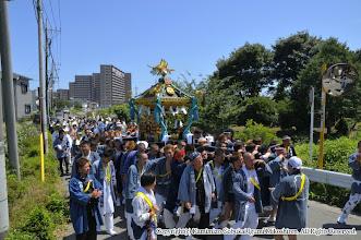 Photo: 【平成21年(2009) 本宮】  抜けるような青空が一日中続き、気温も上昇。