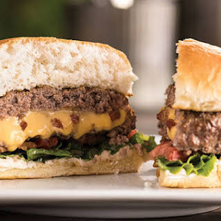 Inside-Out Cheeseburger with Bacon.