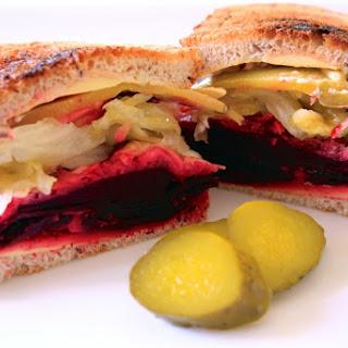 Beet Reuben Sandwich