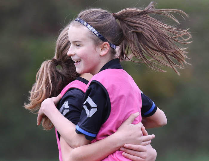Berriew FC Juniors a flagship for female footballers