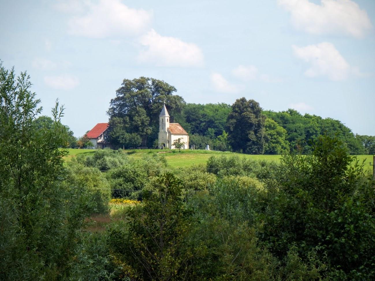 Teskánd - Szent Ilona kápolna