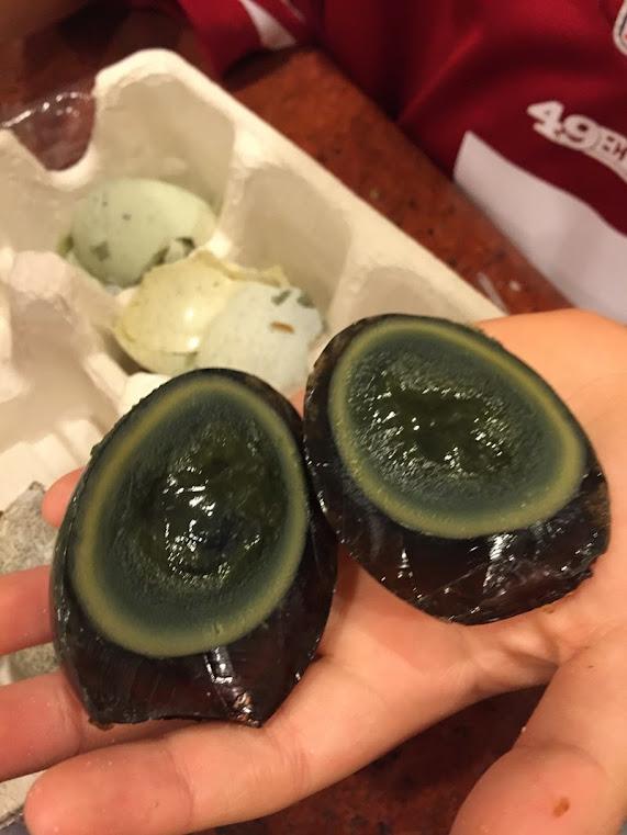 Peedan, o ovo de mil anos chinês