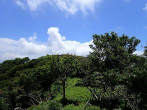 ホッケ山が見えてきた