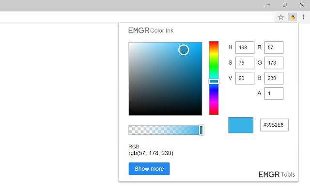 Color Ink for Chrome