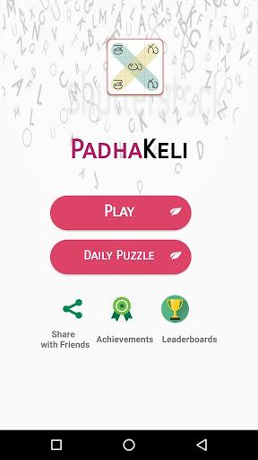 Pada Keli - Telugu Word Search screenshot 1