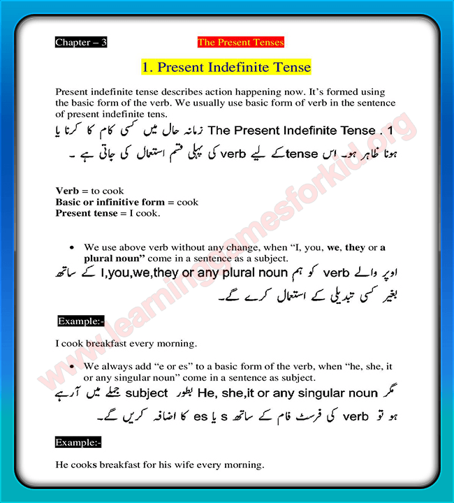 Learn English Grammar in Urdu - Android Apps on Google Play