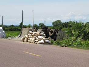 Photo: Year 2 Day 39 - Oopsy, Accident on Highway 5#2