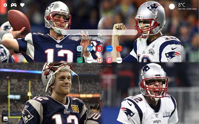 Tom Brady Wallpaper HD & Background New Tab