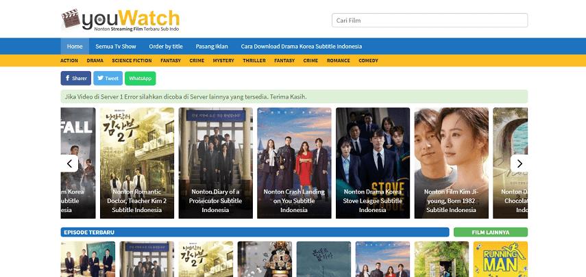 Kupas Tuntas Link Nonton Drama Korea Online Terpopuler Tenasia Indonesia
