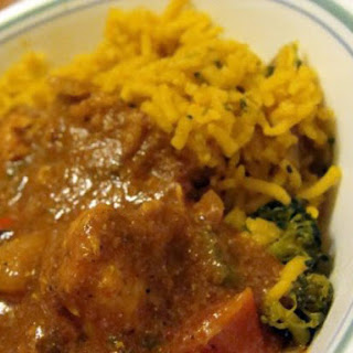 Healthy Crock Pot Chicken Vindaloo