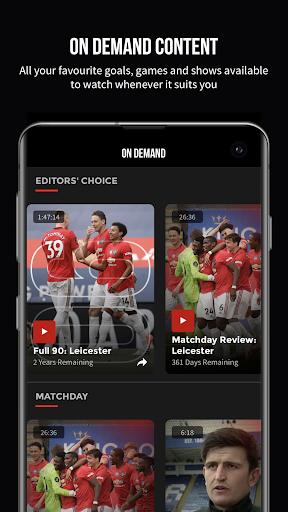 MUTV u2013 Manchester United TV 2.9.0 screenshots 3