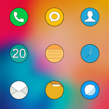 MiColor HD - MIUI CIRCLE ICON PACK APK Latest Version