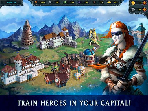 Heroes of War Magic.  Turn-based strategy 1.4.0.3 screenshots 10