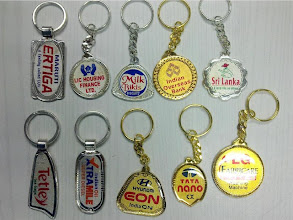 Photo: Laminated Stamping Keychains with Printing-1
