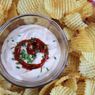 Creamy Sriracha Dip.