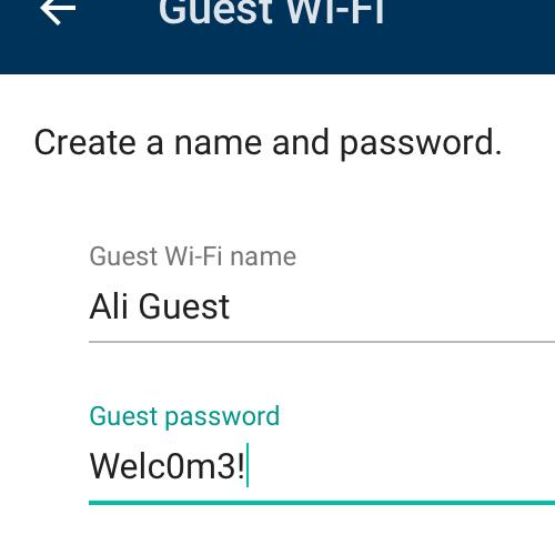 Guest Wi-Fi - Google Wifi Help