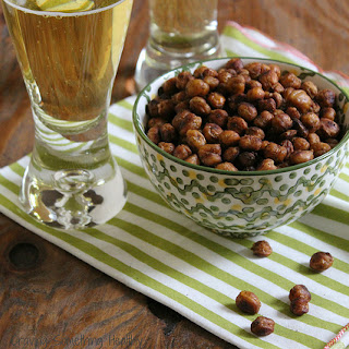 Spicy-Southwest Roasted Chickpeas.