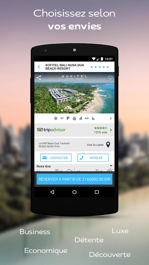 AccorHotels réservation hôtels– Capture d'écran