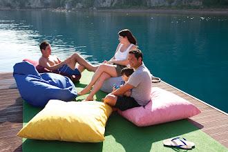 Photo: Chill out or sunbathe..  Adakoy, Turkey waterski pontoon http://www.neilson.co.uk/adakoy