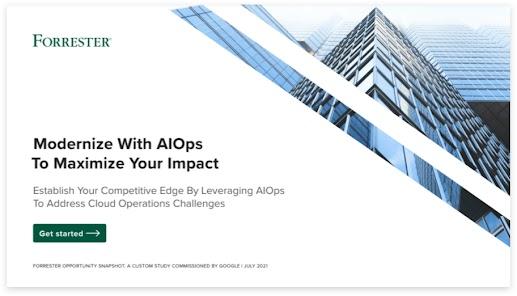 Modernizza con AIOps per massimizzare il tuo impatto