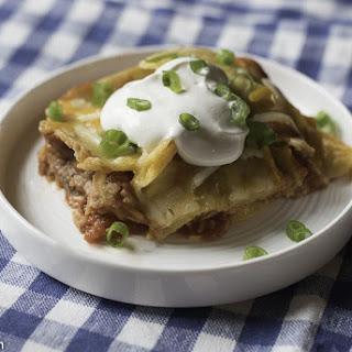Make Ahead Taco Casserole.
