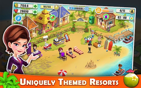 Resort Tycoon – Hotel Simulation MOD APK 9.3 [Unlimited Gems] 1
