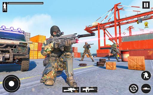 Real Commando Shooter: FPS Shooting Games Free apktram screenshots 9