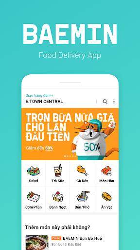 BAEMIN - Food delivery 0.19.6 screenshots 1