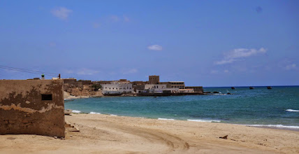Photo: The uninhabited city of Mirbat with it's African slave market