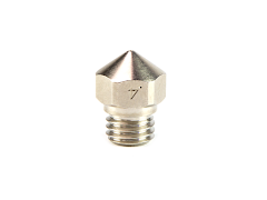 Micro-Swiss Plated Brass Wear Resistant Nozzle for Flashforge - 1.75mm x 0.40mm