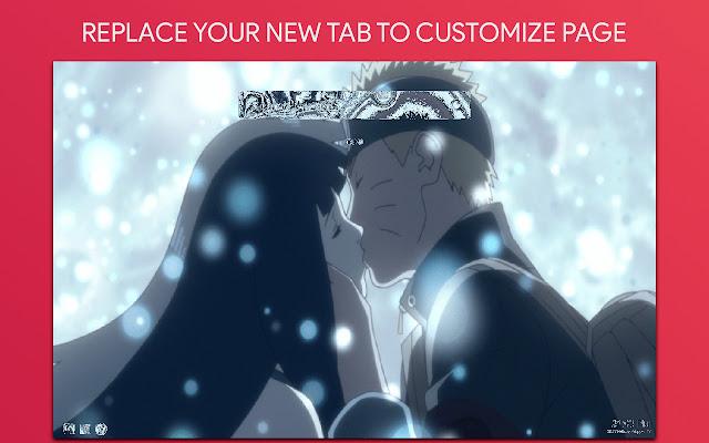 Naruto And Hinata Wallpaper HD Custom New Tab