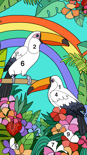 Coloring Book - Color by Number & Paint by Number screenshot 1