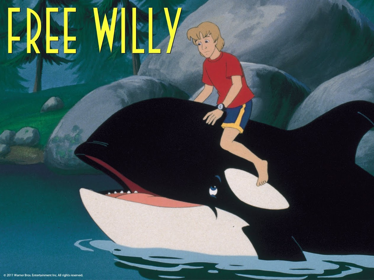 Free Willy: The Animated Series - Movies & TV on Google Play  Free Willy Animatronic Whale