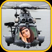 هلیکوپتر قاب عکس