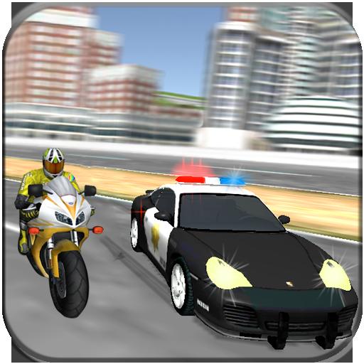 市警察対バイク泥棒 賽車遊戲 LOGO-玩APPs
