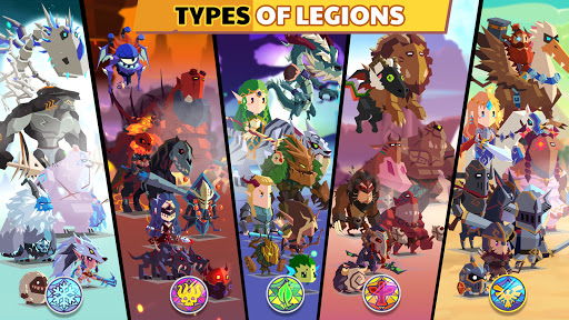 Lords Hooray: لقطات شاشة Legends of Legion 1