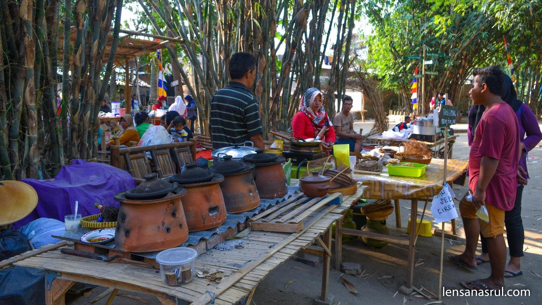 Pilihan makanan tradisional yang banyak
