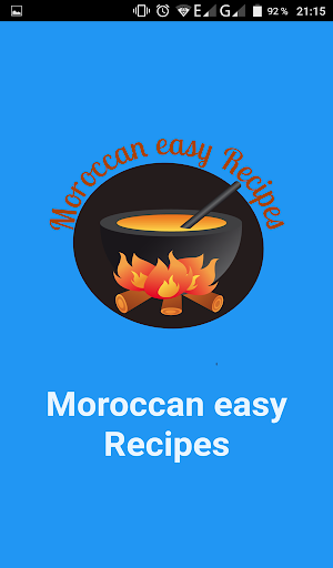 Moroccan easy Recipes - screenshot