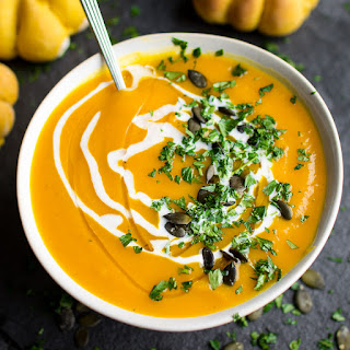 Pumpkin Soup With Cream And Sage Recipes