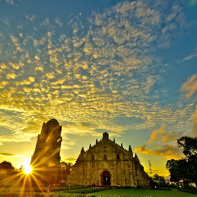 Paoay Church by Jaime Singlador - Buildings & Architecture Other Exteriors
