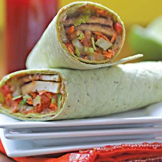 Meet The Thai Tofu-Vegetable Wrap!