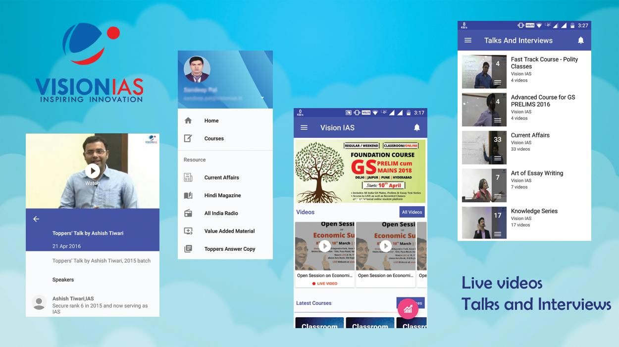 vision ias android apps on google play vision ias screenshot