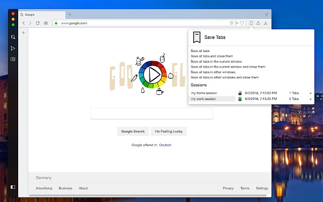 Save Tabs - Browser Session Manager